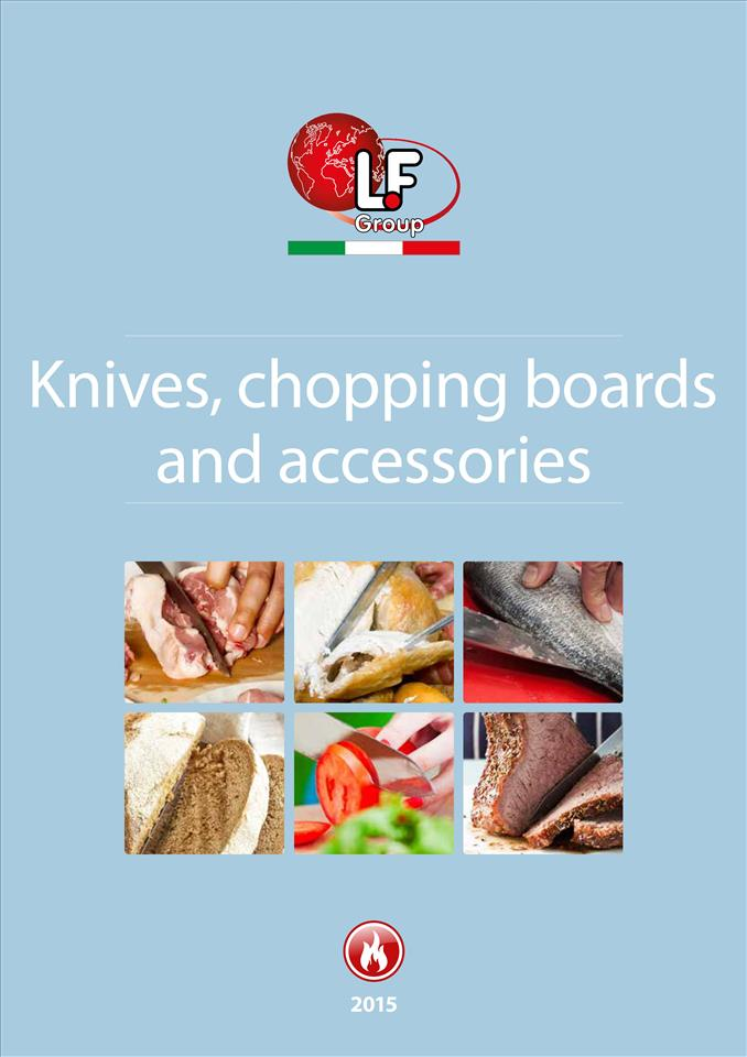 Knives, chopping boards and accessories 04/2015